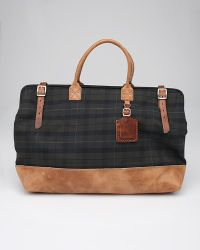 Billykirk | Green Plaid Large Carryall for Men | Lyst