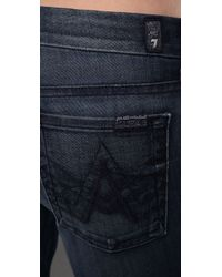 7 For All Mankind - Blue Lexie A Pocket in Provocateur - Lyst