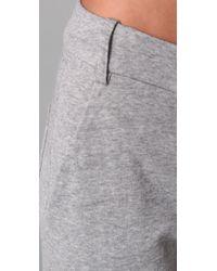 A.L.C. | Gray Trouser Sweatpants | Lyst