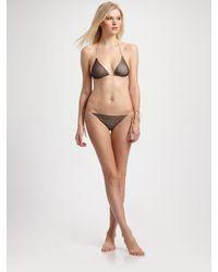 Cali Dreaming | Black Two-piece Mesh Bikini | Lyst