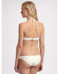 Cali Dreaming - White Two-piece Bandeau Bikini - Lyst