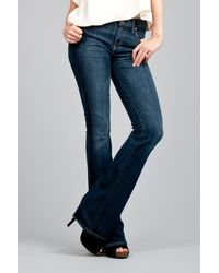 Citizens of Humanity | Blue Amber Mid-rise Bootcut Jeans | Lyst