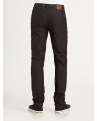 Converse - Brown Slim-fit Twill Pants for Men - Lyst