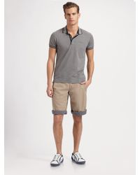 Dolce & Gabbana - Green Roll-up Shorts for Men - Lyst