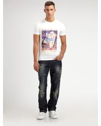 Dolce & Gabbana | White Elvis Presley Tee for Men | Lyst
