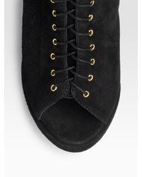 DKNY | Black Cotton Leggings | Lyst