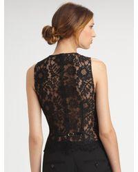 Dolce & Gabbana - Black Stretch Wool Pants - Lyst