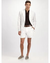 Dolce & Gabbana | White Linen Blazer for Men | Lyst
