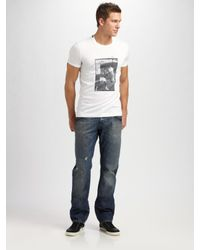 Dolce & Gabbana | White Muhammad Ali Tee for Men | Lyst