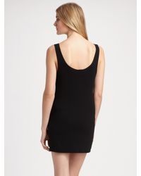 Donna Karan | Black Refined Matte Jersey Leggings | Lyst