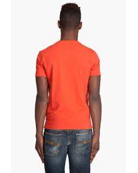 G-Star RAW - Orange Face R T-shirt for Men - Lyst