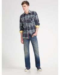 Hudson Jeans | Blue Bootcut Jeans for Men | Lyst