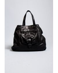 Jérôme Dreyfuss | Black Billy Calf Large Tote | Lyst