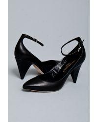 Loeffler Randall | Black Sloane Ankle Strap | Lyst