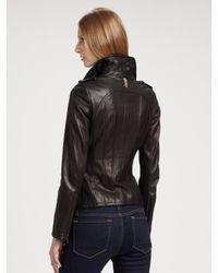 Mackage - Black Leather Jacket - Lyst