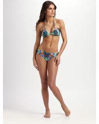 Mara Hoffman | Multicolor Ruched Two-piece Bikini | Lyst