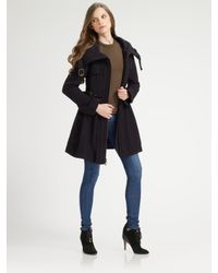 Nanette Lepore | Blue Poison Riding Coat | Lyst