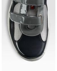 Prada - Black Manhattan Sport Sneakers for Men - Lyst