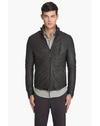 Robert Geller - Gray Riders Jacket for Men - Lyst