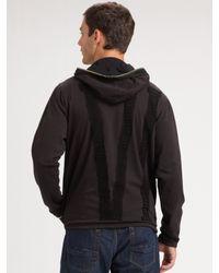Royal Underground - Black Full-zip Hoodie for Men - Lyst