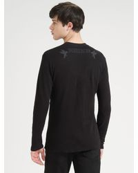 Royal Underground | Black Thermal Sweater for Men | Lyst