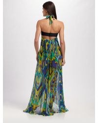 Shoshanna - Multicolor Silk Sarong Coverup - Lyst