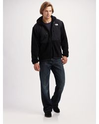 The North Face | Black Denali Fleece Jacket for Men | Lyst