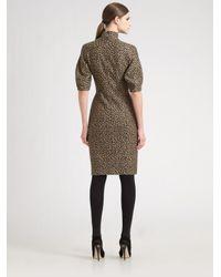 Akris   Multicolor Dalmatian-print Knit Dress   Lyst