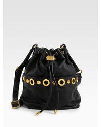 Badgley Mischka | Black Erin Drawstring Bag | Lyst