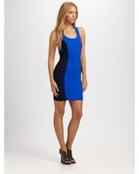Boulee | Blue Gia Cross Back Dress | Lyst