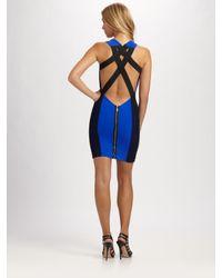 Boulee - Blue Gia Cross Back Dress - Lyst