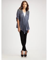 Elizabeth and James | Blue Beaded Tokyo Top | Lyst