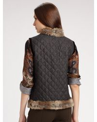 Etro | Multicolor Paisley and Leopard Silk Blouse | Lyst