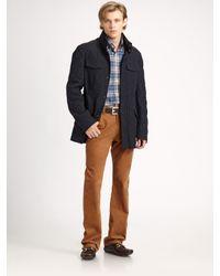 Façonnable   Blue Faco Rain Jacket for Men   Lyst