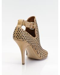 Givenchy | Natural Victoria Peep-toe Ankle Boots | Lyst