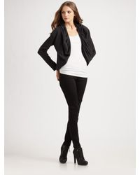 James Perse - Black Bolero Jacket - Lyst