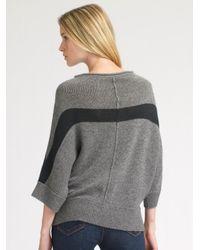 James Perse - Gray Cashmere Kimono Sweater - Lyst
