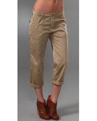 Joie | Natural Abra Pants | Lyst