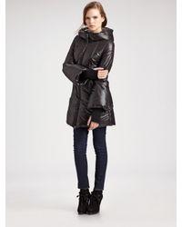 Mackage | Blue Shiny Puffer Coat | Lyst