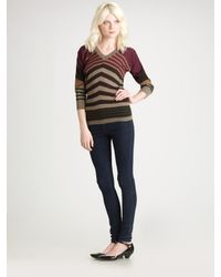 Marc By Marc Jacobs | Green Rah Rah Sweater | Lyst