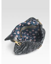 Marc By Marc Jacobs | Gray Dreamy Logo Linda Flat Bag | Lyst