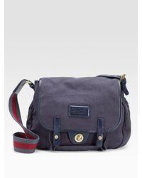 Marc By Marc Jacobs | Blue General Shoulder Bag | Lyst