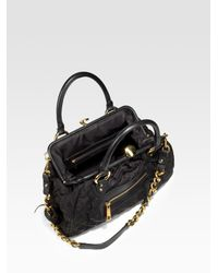 Marc Jacobs - Black Stam Bag - Lyst
