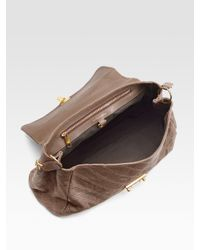 Marc Jacobs   Brown Baroque Quilting Minetta Shoulder Bag   Lyst