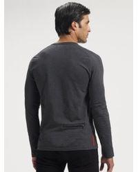 Prada - Black Slim-leg Jeans for Men - Lyst