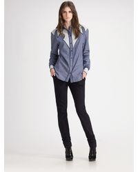 Proenza Schouler | Blue Western Shirt | Lyst