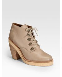 Rachel Comey | Natural Miner Lace-up Ankle Boots | Lyst
