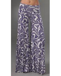 Rachel Pally | Blue Wide Leg Trousers | Lyst