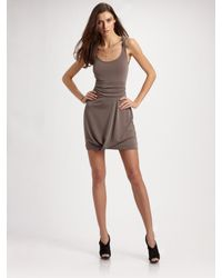 Richard Chai Love | Brown Open-back Dress | Lyst