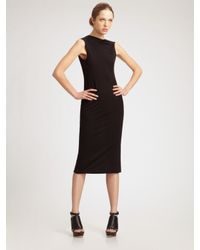 Rick Owens Lilies | Black Low Twist Back Dress | Lyst